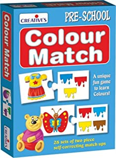 Creative's CRE0615 Matching & Pairing Card Games 3 Years & Above,Multi color