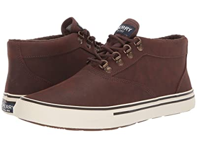 Sperry Striper Storm Chukka (Brown Leather) Men