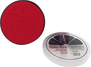Ruby Red Paint Face Paint, 18 ML - Uv Red