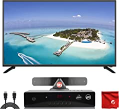 $249 » Sansui 43-Inch 1080p FHD DLED Smart TV (S43P28FN) Slim, Lightweight, Built-in HDMI, USB, High Resolution Bundle with Circuit City ATSC HD Digital Converter Box and Accessories