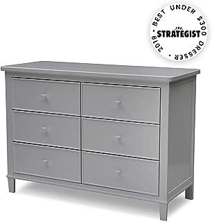 Delta Children Haven 6 Drawer Dresser, Grey
