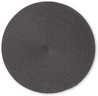 Set de table rond Anthracite 38 cm