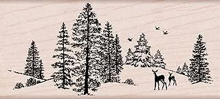 tree trimmings stamp set