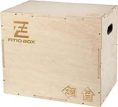 Knapol Box crossfit, oefenbox, box jump crossfit, comfortabele en elegante trainingsboxen, houten kisten van duurzaam berk...