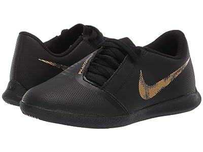 Nike Kids Jr. Phantom Venom Club IC (Toddler/Little Kid/Big Kid) (Black/Metallic Vivid Gold) Kids Shoes