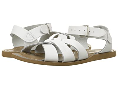 Salt Water Sandal by Hoy Shoes The Original Sandal (Toddler/Little Kid) (White) Kids Shoes