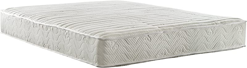 Signature Sleep 5436096 Contour Encased Mattress Full White