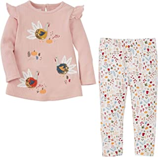 Mud Pie Baby Girls` Turkey Tunic and Legging Set