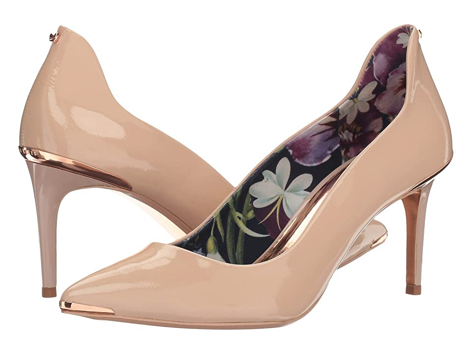 Ted Baker Vyixin (Nude Patent Leather) Women