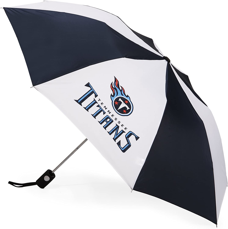 NFL Tennessee Titans Auto Folding Umbrella
