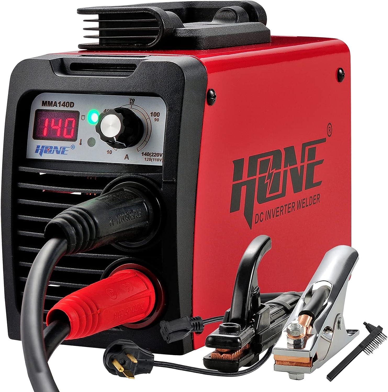 HONE Stick Welder, 110V/220V 140A ARC Welder Machine IGBT Invert