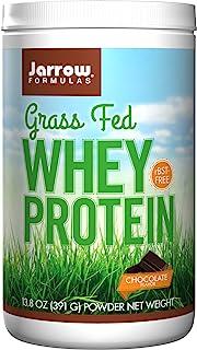 Jarrow Formulas Whey Protein Grass Fed, Sports Nutrition, Chocolate, 391 g