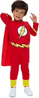 Justice League Boys' Costume Coverall Superman Batman Robin Flash