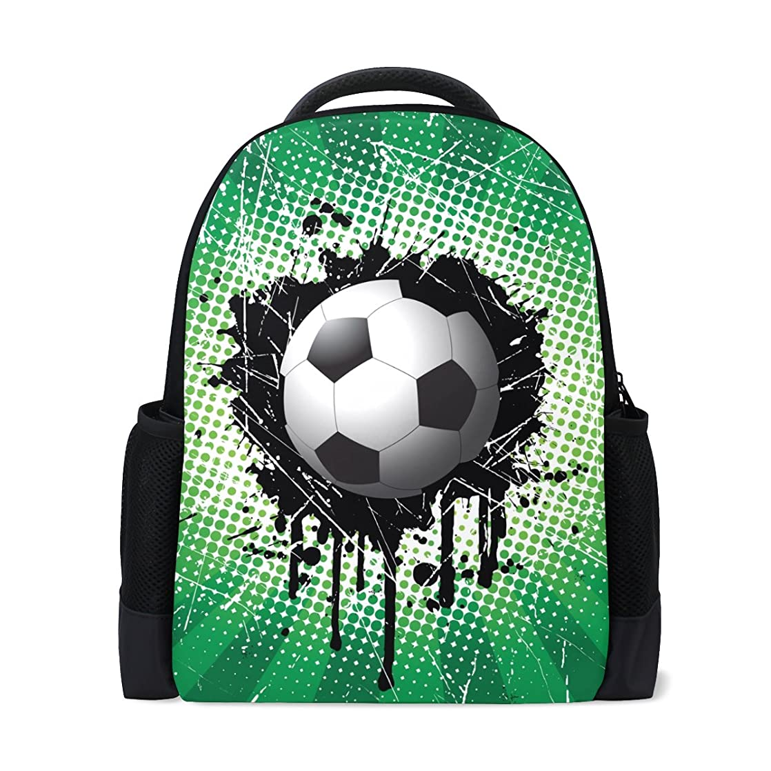 第二に抽出治世AOMOKI リュックサック バッグ 男女兼用 メンズ レディース 通勤 通学 大容量 サッカー