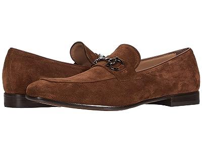 Salvatore Ferragamo Reno Loafer (Chocolate) Men