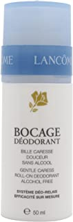 Lancome Bocage Gentle Caress Roll-on Deodorant for Unisex, 1.7 Ounce