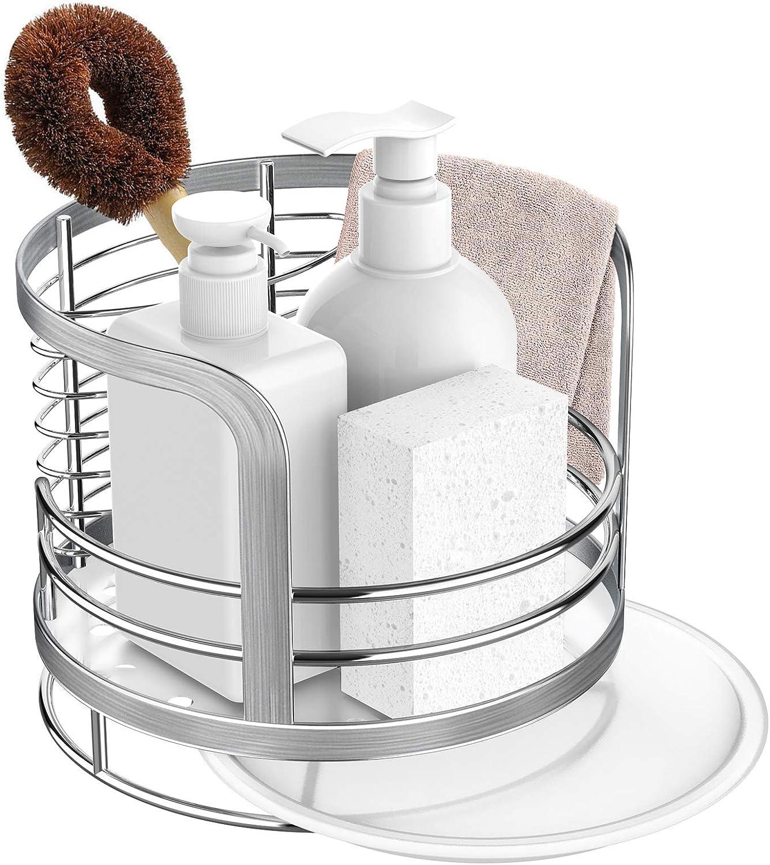 ODesign Kitchen Sink Caddy Organizer Soap New sales Storage Sponge Popular popular Brush