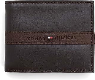 Tommy Hilfiger Men's Leather Ranger RFID Bifold Wallet with Coin Pocket