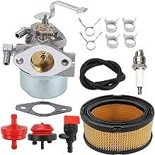ATVATP 640152 Carburetor for Tecumseh 640023 Carburetor 640051 640112 640140 640152A HM80 HM90 HM100 Snow Blower & 33268 Air Filter