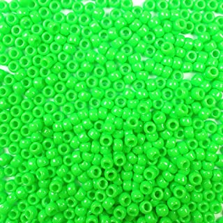 Best lime green pony beads Reviews
