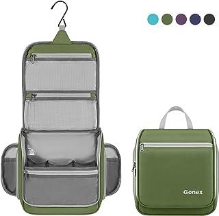 Gonex Hanging Toiletry Bag Travel Organizer Green