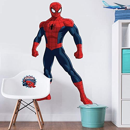 Extra Large Marvel Comics Spiderman Character Life Size Wall Art Big Mural Wallpaper Sticker Decal Decor