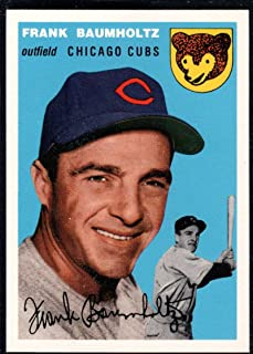 Baseball MLB 1994 Topps Archives 1954#60 Frank Baumholtz #60 NM Cubs