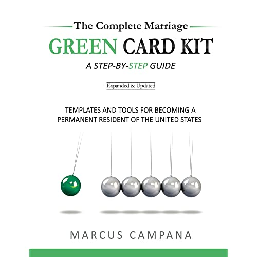 The Complete Marriage Green Card Kit: Templates and Tools for