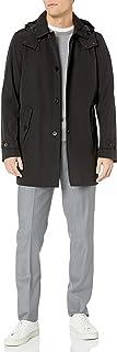 Men's Hooded Rain Trench Jacket