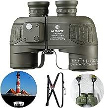 HUTACT Militares Prismáticos Compactos 10x50, Prismáticos