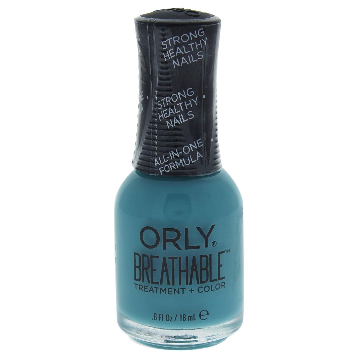 スピーカー怖がって死ぬヒューマニスティックOrly Breathable Treatment + Color Nail Lacquer - Morning Mantra - 0.6oz / 18ml