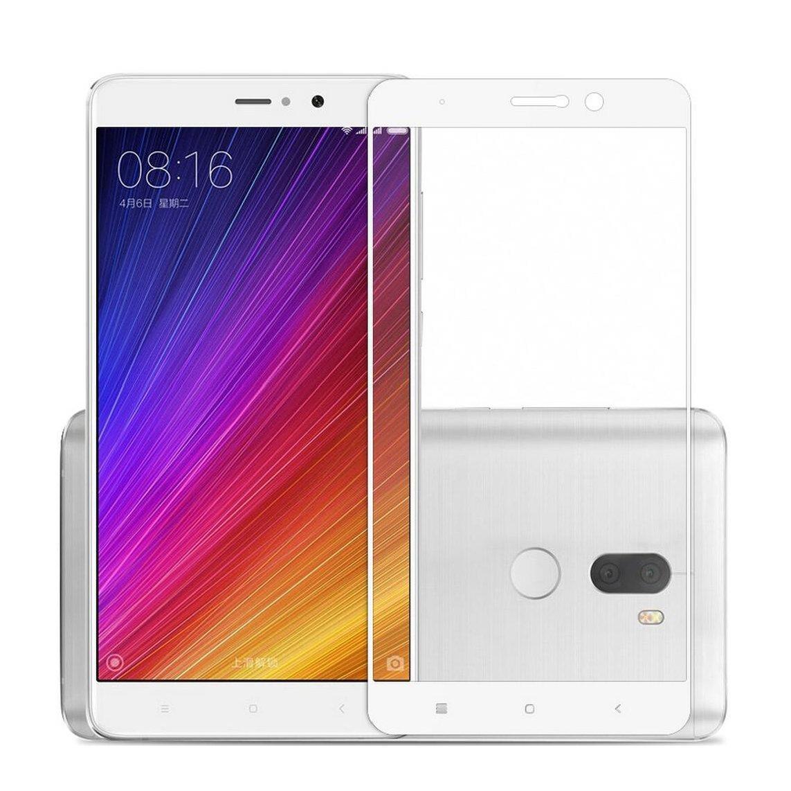 Xiaomi Mi5S Plus Protector de Pantalla Cristal, SMTR® Edge ...