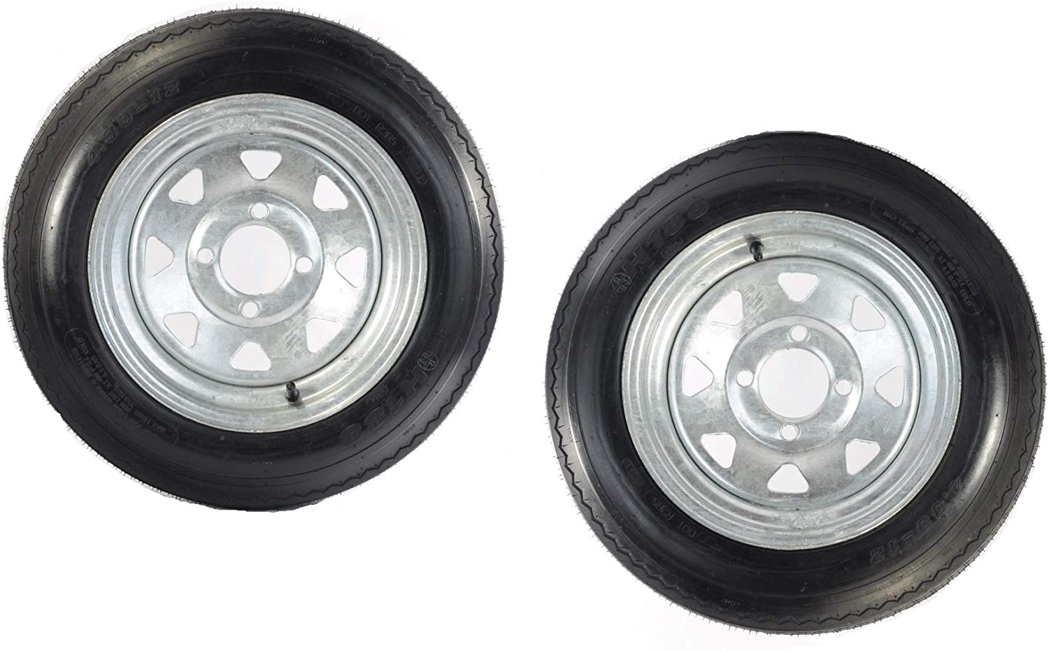 2-Pk Trailer Tire Rim 4.80-12 12 in. Spo Galvanized Sales results No. Inventory cleanup selling sale 1 C Load Lug 4