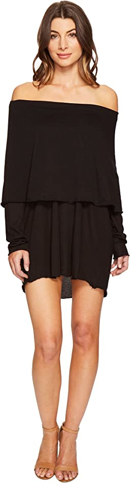 Culture Phit - Austen Off the Shoulder Fold-Over Dress