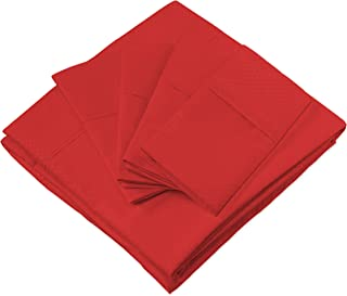 red full size bedding