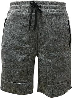 Shorts for Men, F_Gotal Men's Casual Plain Drawstring Elastic Waist Slim Sports Pants Jogger Shorts Sweatpants