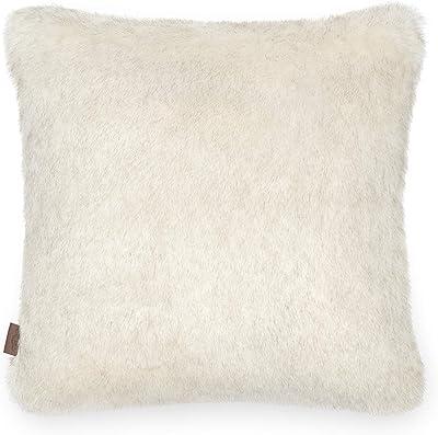 """UGG Firn Fur Decorative Throw Pillow, Natural, 20"""" x 20"""""""