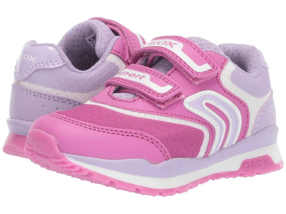 Geox Kids Pavel Girl 3 (Toddler) (Fuchsia/Lilac) Girl
