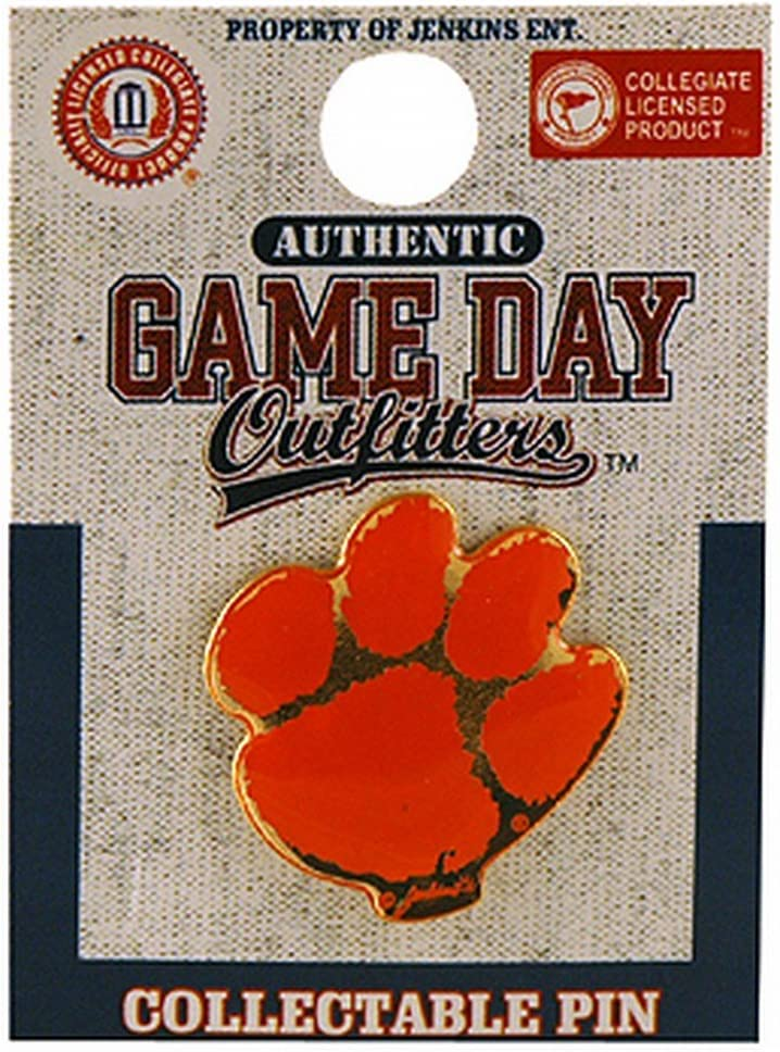 NCAA Max 75% OFF Direct sale of manufacturer Clemson Tigers Lapel Pin Logo