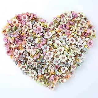 NWSX - Flores Artificiales de Margarita para decoración de Flores de Seda, 100 Unidades de 2 cm