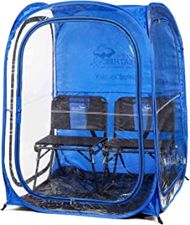 Under the Weather MyPodDoubleX 2 Person Pop-up Weather Pod. The Original, Patented WeatherPod