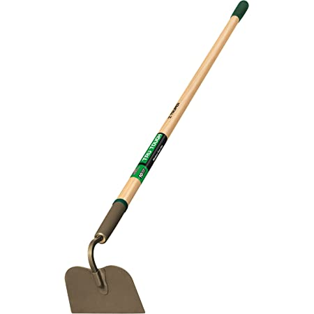 Truper 30006 Tru Tough 54-Inch Welded Garden Hoe, 6-Inch Head, Wood Handle with Rubber-Grip (Packaging May Vary)