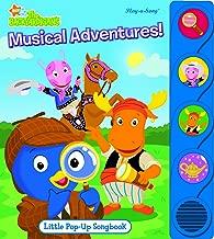 Little Pop Up Songbook Backyardigan