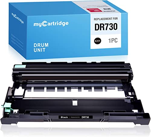 lowest MYCARTRIDGE Compatible Drum Unit Replacement for Brother DR730 DR-730 online sale for use online in MFC-L2710DW HL-L2350DW MFC-L2750DW HL-L2370DW DCP-L2550DW (1 Black) sale