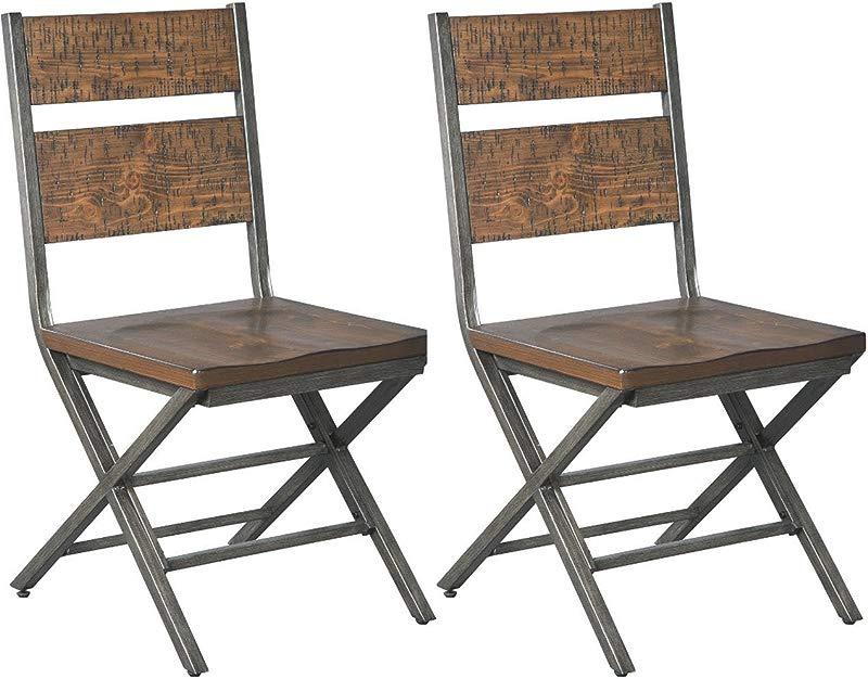 Ashley Furniture Signature Design Kavara Dining Room Chair Medium Brown