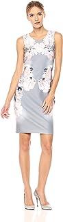 CALVIN KLEIN Women's Printed Sheath Dress - Multi - 2