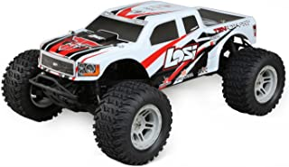 Losi 1/10 Tenacity 4WD RC Monster Truck Brushless RTR with AVC, White