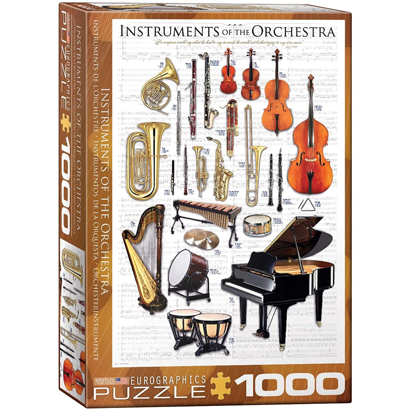 EuroGraphics Instruments of The Orchestra Puzzle (1000-Piece)