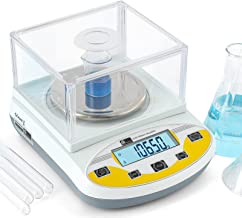 CGOLDENWALL Laboratoriumweegschaal door nauwkeurige kalibratie met 3000 g, 0,01 g nauwkeurigheid, digitale analytische ele...