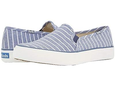 Keds Double Decker Breton Stripe (Blue) Women